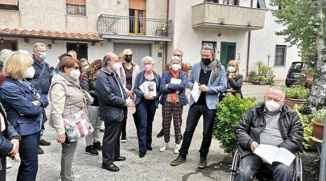 targa Corte Ungaretti Lucca