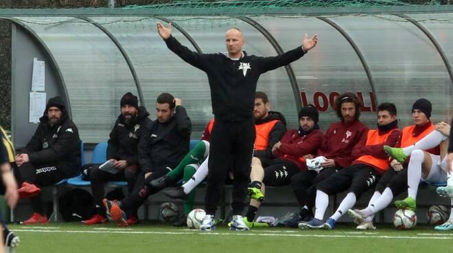 Tau Calcio Camaiore Eccellenza allenatore Pietro Cristiani