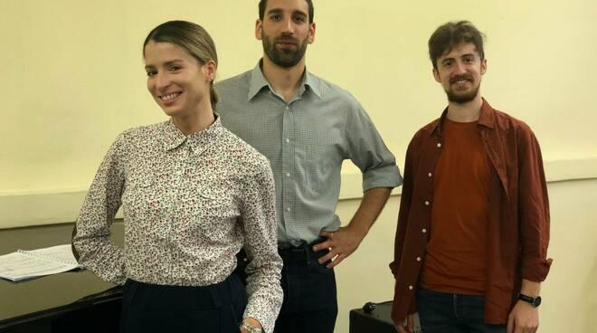 tre cantanti solisti della Cluster
