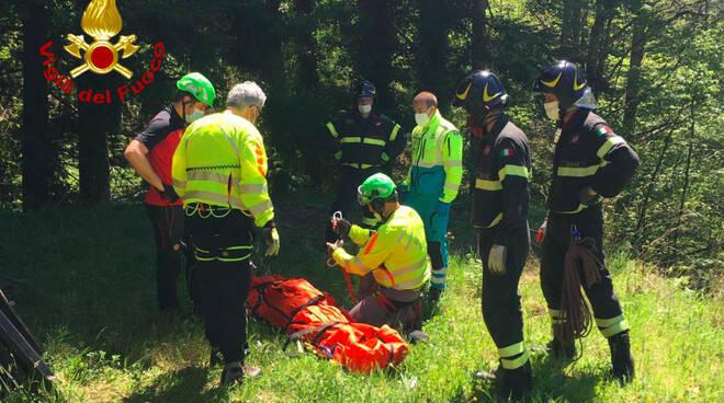 vigili del fuoco soccorso
