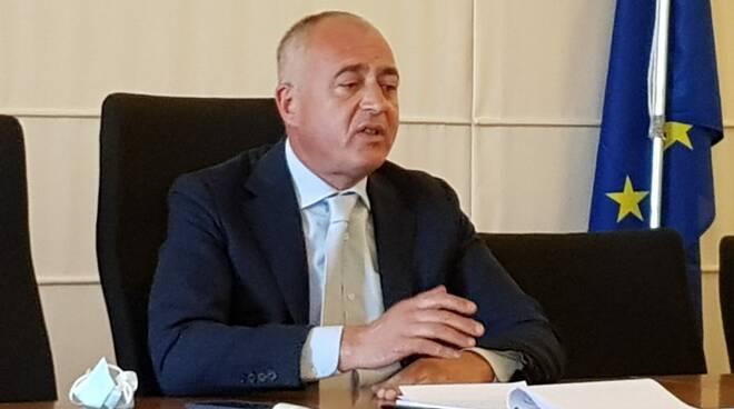 Alberto Coluccini conferenza stampa