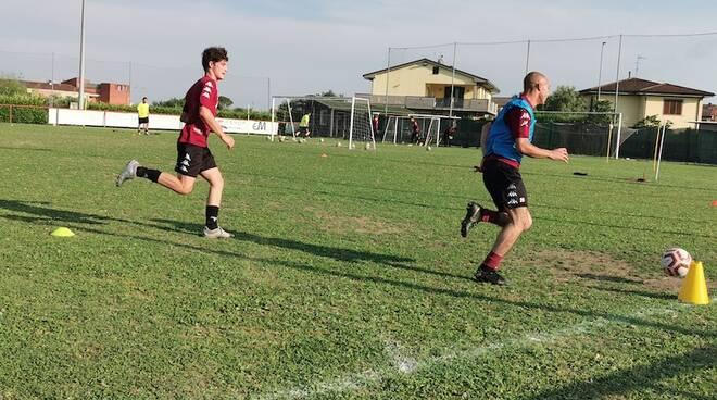 allenamento eccellenza Tau calcio Altopascio