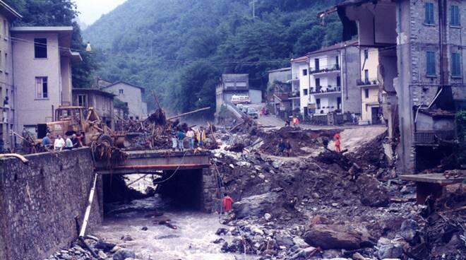 alluvione Versilia e Garfagnana 1996