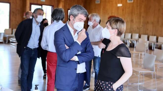 Andrea Orlando a Empoli