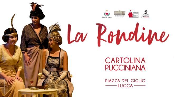 Cartolina Pucciniana La Rondine
