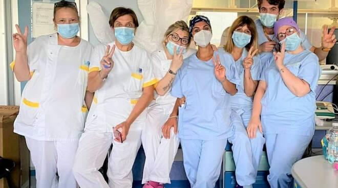 covid chiusura reparto terapia intensiva a Cecina