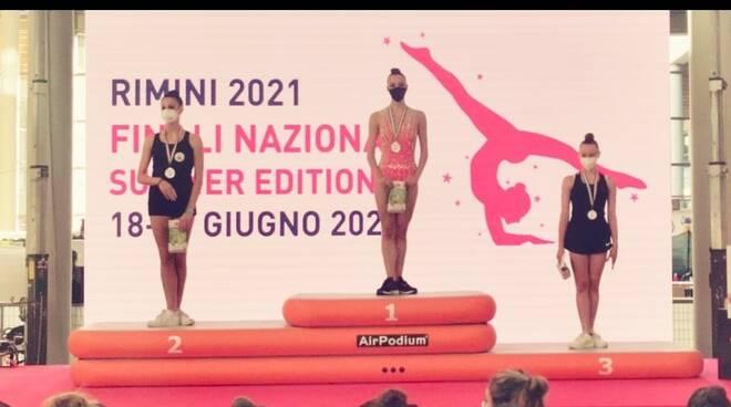Emma Casalini ginnastica Montopoli
