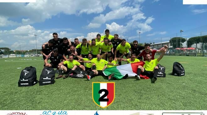 Fc Taverna Blanca campione nazionale calcetto a 7 Aics