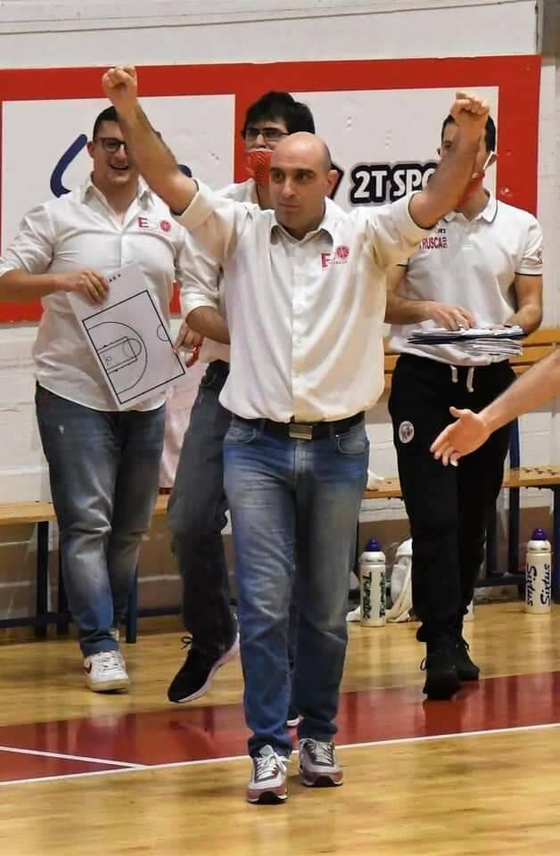 Federico Barsotti coach Etrusca San Miniato