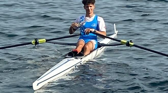 Filippo Fatticcioni bronzo singolo canottaggio