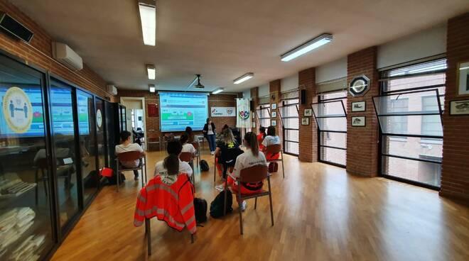 formazione volontari per il progetto Info Salute Toscana nord ovest