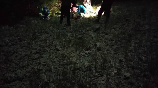 turista tedesco perso nel bosco nel pisano