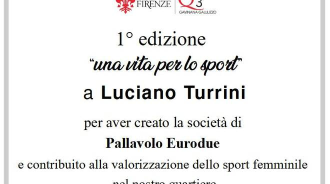 Luciano Torrini premio
