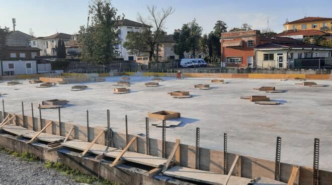 gettata di cemento progetto ex Gesam San Concordio