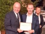 Giampiero Bandettini con il sindaco Alessandro Tambellini