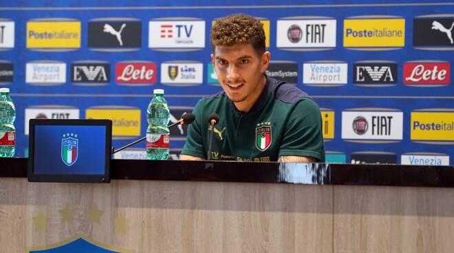 Giovanni Di Lorenzo  nazionale conferenza stampa