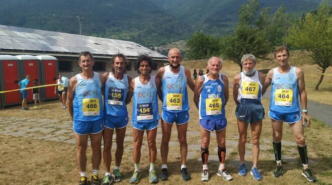 Gs Orecchiella Garfagnana corsa in montagna