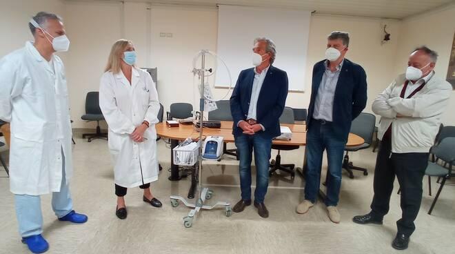 I Lions della Valdelsa donano un ventilatore all'ospedale di Campostaggia