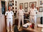 Il comandante generale del Corpo delle capitanerie di Porto visita gli uffici della guardia costiera dell'isola d'Elba