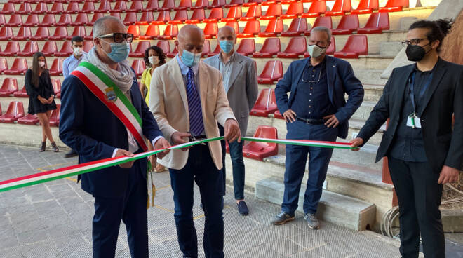 Inaugurazione Anfiteatro 'Julian Beck' del Teatro Era