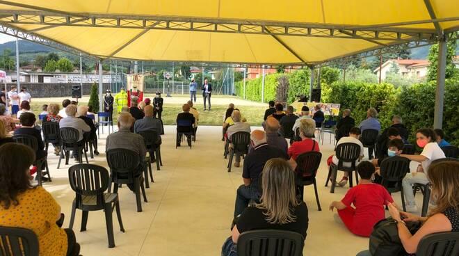 inaugurazione nuovi spazi alla parrocchia di Marlia