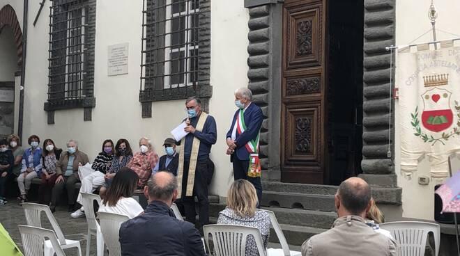 inaugurazione sala di lettura Coreglia Paola Ceccarelli