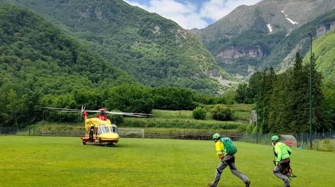 incidente montagna Pania Verde