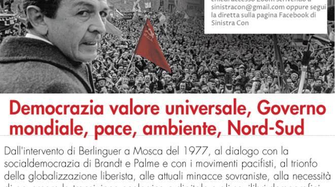 incontro Enrico Berlinguer