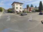incrocio via Carignani via Pisana street view