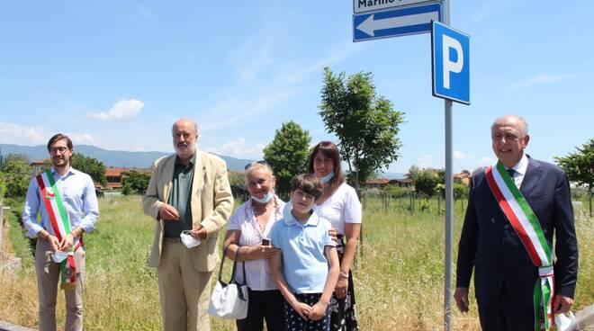 Intitolazione parcheggio Marino Pratali Lucca