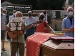 Lari Da Costa funerali Santa Maria del Giudice