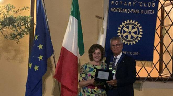 Luigi Muri e Cristina Lazzareschi