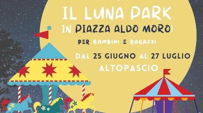 Luna Park Altopascio piazza Aldo Moro