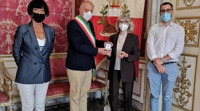Maria Rosa Paolini medaglia città di Lucca