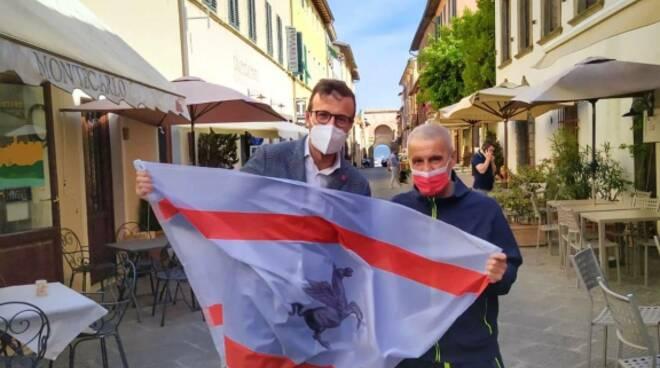 Mazzeo con Federico Carrara