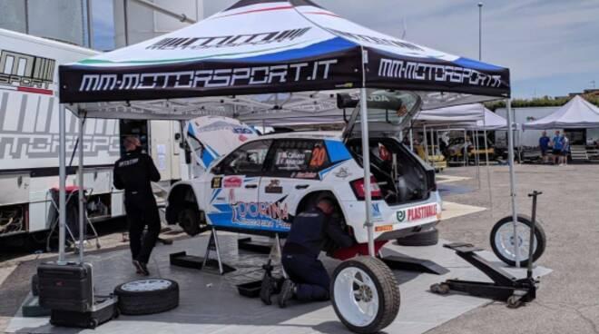 Mm Motorsport Skoda Fabia Michele Caliaro