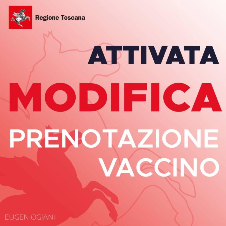 modifica prenotazione vaccino covid