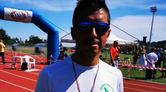 Omar Bouamer 5000 metri campionati italiani Rovereto