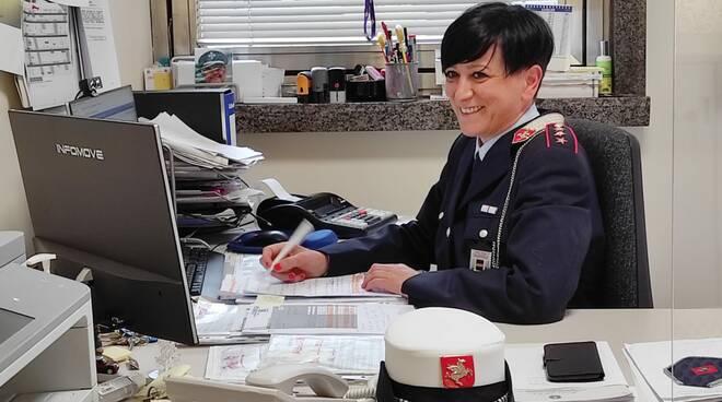Pamela Michelozzi comandante Municipale Quarrata