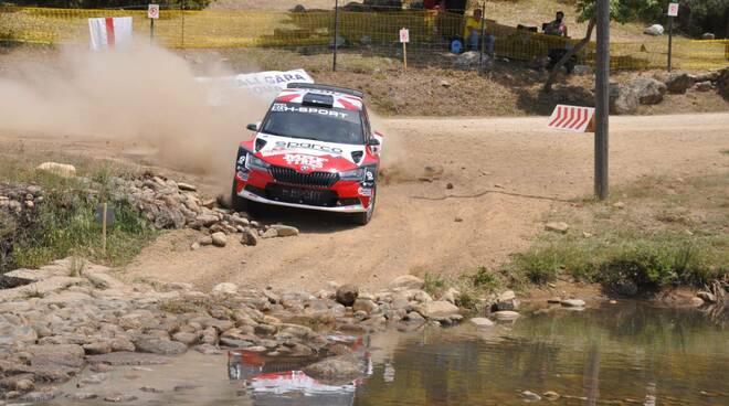 Paolo Andreucci Rudy Briani Rally Terra