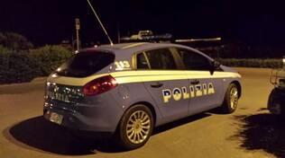 Polizia in Darsena a Viareggio