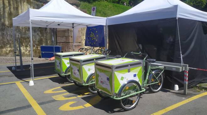 premiazione operatori più virtuosi per il trasporto sulle cargo bike