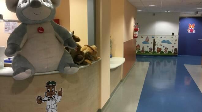 restyling pediatria del San Luca