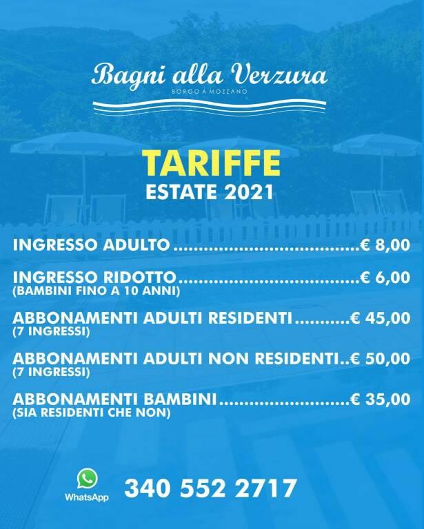 Riapertura piscine Borgo a Mozzano