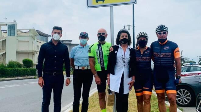 rispetta il ciclismo Viareggio