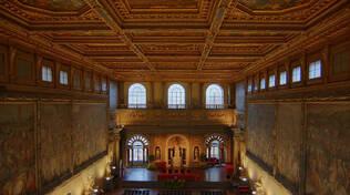 Salone dei 500 a palazzo vecchio di firenze