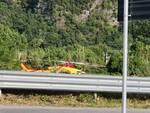 Scontro tra moto sulla via Lodovica a Diecimo