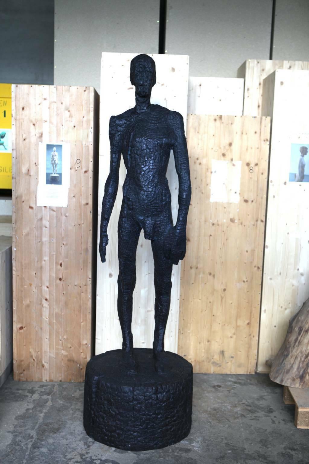 sculture Aron Demetz