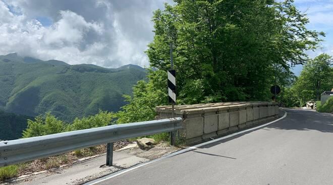 strada provinciale 71 San Pellegrino in Alpe frana