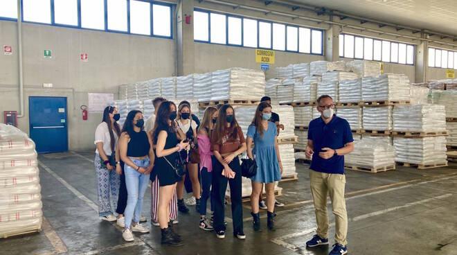 Studenti Mita Academy nelle ditte Gruppo Lapi